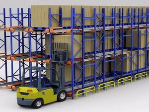 穿梭式货架-穿梭车货架