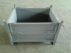 网格料箱-钢制料箱